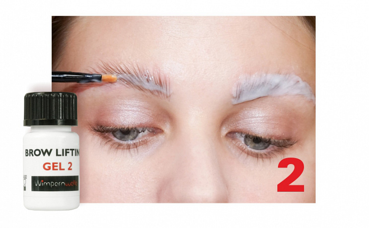 Brow Lifting & Styling - Step 2