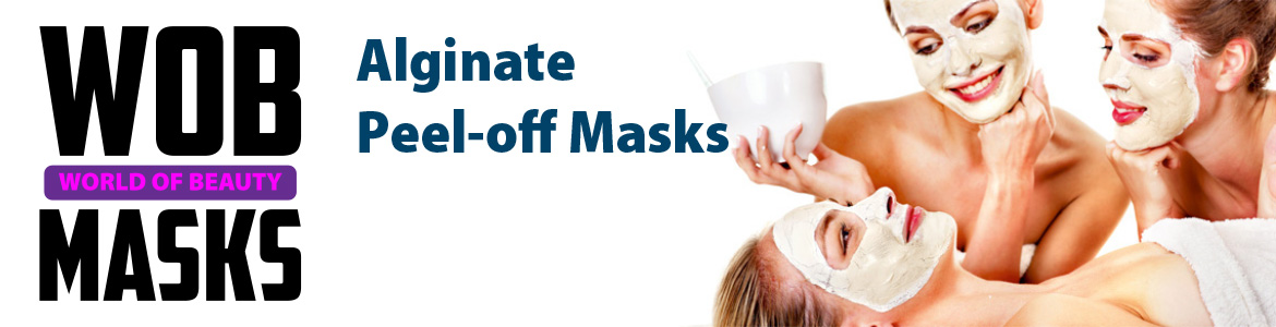 Wob Masks - Alginate Peel-off Masks