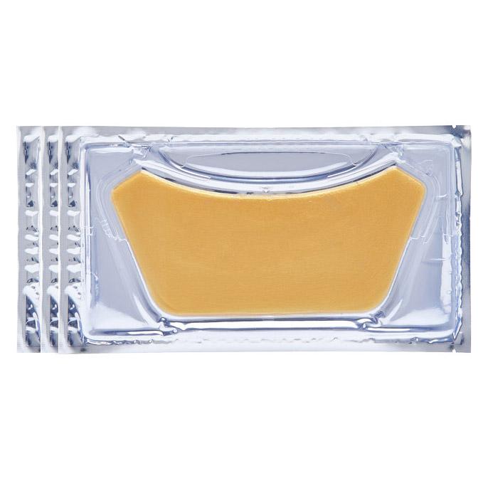 Χρυσή Μάσκα Λαιμού - Golden Divine Neckline Gelmask (Σετ 3 Τεμ.)