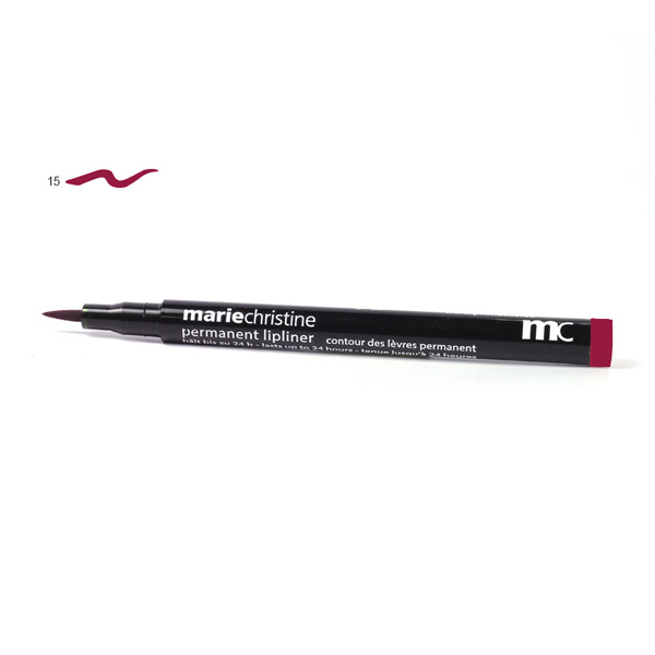 No 15 (Classic Red) MC Permanent Lipliner Classic Red
