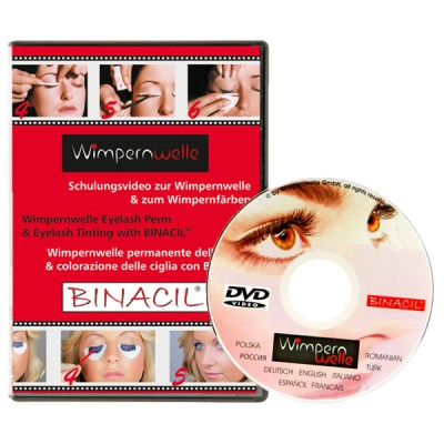Wimpernwelle DVD TRAINING VIDEO