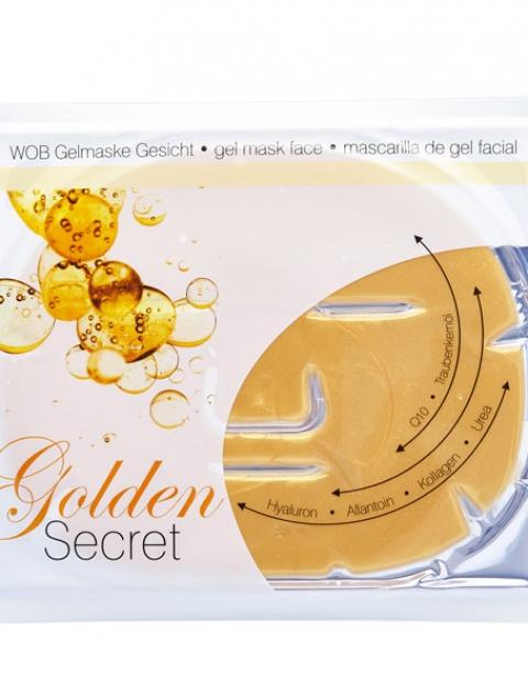 Χρυσή Μάσκα Προσώπου - Golden Secret Face Gelmask